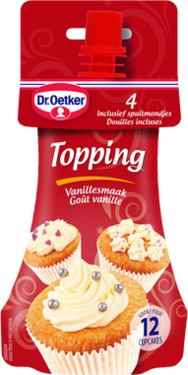 Topping Vanille