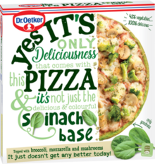 Yes it´s Pizza Spinach Base