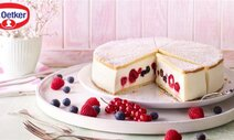 Cheesecake met rood fruit (no bake)