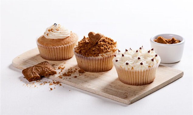 Speculoos cupcakes