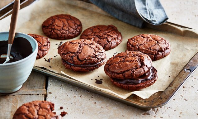 american chocolate brownie cookies